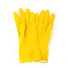 Перчатки резиновые желтые S/ 1/МИН12/240 /ГЦ