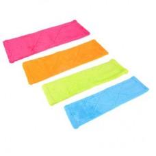 Насадка для швабры из микрофибры, 10х40см, Ромбы, 4 цвета, 3705 /VETTA /ГЦ