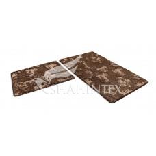 Набор ковриков  60*100+60*50см/V002/VINTAGE/шоколадный 37/SHAHINTEX/1/15
