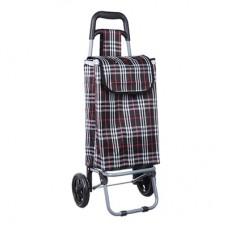 Тележка + сумка, грузоподъемность до 30кг/брезент/ЭВА/36х28х86см/колесо d15см/ZZ 402-7/ГЦ