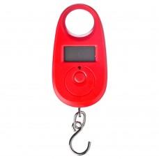 Весы Безмен электронный/пластик/вертикальный/макс.нагрузка 25кг/точн.измер.=5гр/1xCR2032/4 цвета/ГЦ