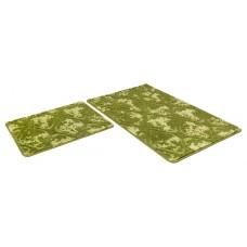 Набор ковриков 50*80+50*50/SHАHINTEX VINTAGE SH V002/зеленый 52/SHАHINTEX/1/15
