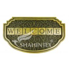 Коврик придверный резиновый с покрытием /SHAHINTEX/ SH40 45*75/ золото/1/10