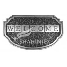Коврик придверный резиновый с покрытием /SHAHINTEX/ SH40 45*75/ серебро/1/10