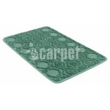 Коврик 40*60/АКТИВ/002/зеленый 52/icarpet/SHAHINTEX/1/15