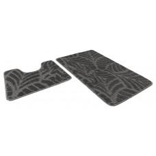 Набор ковриков 50*80+50*40/АКТИВ/001 серый 50/icarpet/SHАHINTEX/1/15