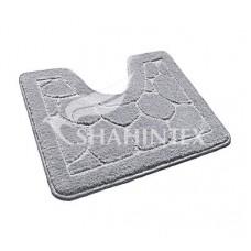Коврик д/туалета  60*50/ЭКО//серый/SHAHINTEX/50/1/15