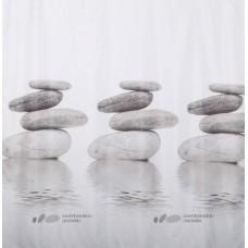 Штора д/ванн с кольцами 180*200/Гармония/полиэстер./Dasch/Китай/1/12