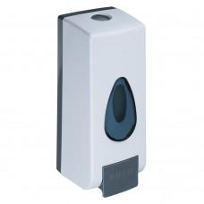 Дозатор для жидкого мыла, настенный, пластик, 600мл/белый/SonWelle/ГЦ