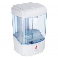 Дозатор для жидкого мыла, настенный, пластик, сенсор на батарейках 600мл/белый/SonWelle/ГЦ