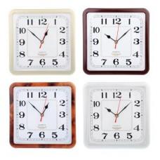 Часы настенные пластик 23*23см /ГЦ