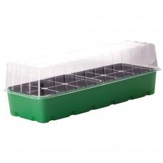 Минипарник для рассады 40 см. 12 ячеек/зеленый/Пластик Респаблик1/24