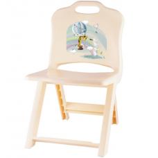 Стульчик детский раскладной/Giraffix/Полимербыт