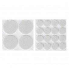 Накладки-протекторы для мебели, 4 штуки 3,7 см, 16 штук 1,8 см, фетр/ГЦ