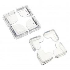Накладки - протекторы на углы, 4см, ПВХ, 2 дизайна/ГЦ