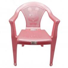Стул детский пластиковый 34*36*49,5см./розовый перламутр/Малыш/Росспласт/б/уп.