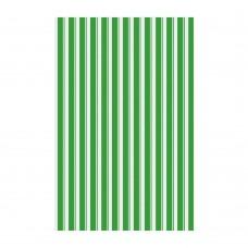 Полотенце Полоски/42x72см/зелен./Мультидом/1/12