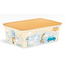 Коробка 10л/Giraffix/Полимербыт