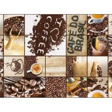 Клеенка ПВХ на нетканой основе Photoprint 140см*20м. 726 Кофе/ИТАЛИЯ/GIMY