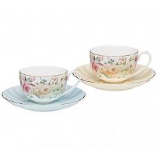 Чайный набор на 2 персоны,4пред.,280мл/Времена года/Lefard/Арти-М