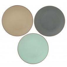 Тарелка подставочная Аметист 27см/керамика/3 цвета/MILLIMI/ГЦ