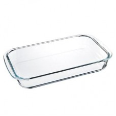 Форма для запек. стекло прямоугол. /34х21х5см/2л/с ручками/SATOSHI/1/12 /ГЦ