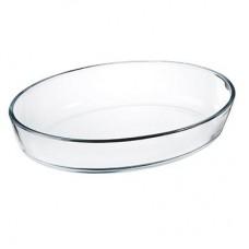 Форма для запек. стекло овал. /30х21х6см/2л/с ручками/SATOSHI/1/12 /ГЦ