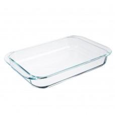 Форма для запекания жаропрочная/прямоугольная с ручками/стекло/39х24х6см/3,5л/SATOSHI/ГЦ