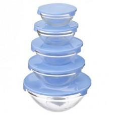 Комплект контейнеров стекло с кр. 5шт/140мл,210мл,350мл,450мл,850 мл/1/16 /ГЦ
