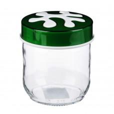 Банка для сыпучих продуктов/стекло/425мл/Пазл/HEREVIN/ГЦ