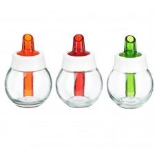 Дозатор для сахара 180 мл/стекло/3 цвета/HEREVIN/Мираж/131661-823/ГЦ