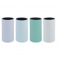 Подставка для ножей с полипропиленовыми разделителями, 11х22см, круглая, 4 цвета/SATOSHI/ГЦ