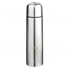 Термос металлический 0,5л /серебристый/Буллет/для напитков/VETTA /ГЦ