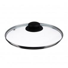 Крышка стеклянная с метал ободком в сборе 24см /ГЦ