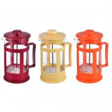 Френч-пресс, пластик, 600мл Амели, 3 цвета /ГЦ