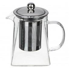 Чайник заварочный/500мл/ситечко из нерж стали/стекло,пластик/VETTA/ГЦ
