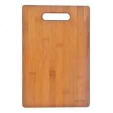Доска разделочная деревянная Прямоугольная/30*20*0,9см/бамбук/Гринвуд/VETTA/1/20 /ГЦ
