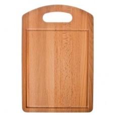 Доска разделочная деревянная Прямоугольная/30*20*1,2см/бук /ГЦ