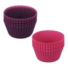 Набор форм для выпечки кексов 6шт, 9,5x4,4см, силикон/Алион/ГЦ
