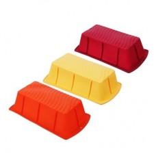 Форма силиконовая прямоугольная 22,5x12,5x6см, 3 цвета/VETTA /ГЦ