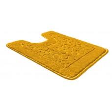 Коврик д/туалета  57*80/РР/желтый 60/SHАHINTEX
