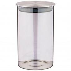 Ёмкость для сыпучих продуктов  SMOKY 1000мл/9,5*16см/AGNESS/Арти-М