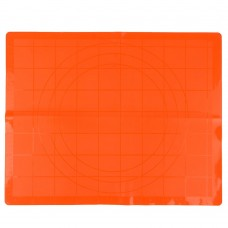 Коврик силиконовый для раскатки теста/ 50х40см/ 3 цвета/ГЦ