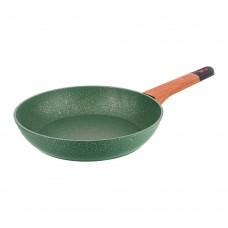 Сковорода с антипригарным покрытием MEGASTONE,24Х4,9см/AGNESS/Арти-М