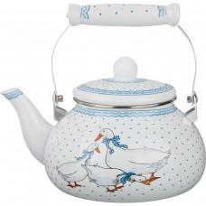 Чайник эмалированный 2,5л /Agness/Арти-М