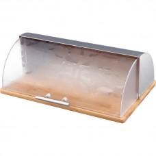 Хлебница деревянная с комбинированной крышкой/Арти-М