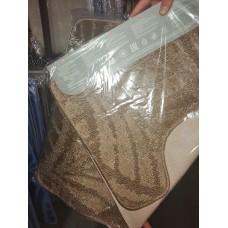 Набор ковриков 50*80+50*40/АКТИВ/001 кофе с молоком 55/icarpet/SHAHINTEX/1/15