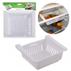 Лоток раздвижной в холодильник VL80-168/24х7,5х28/Мультидом