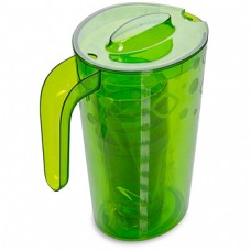 Питьевой набор: кувшин 1,8л. + 4 стакана 0,3л./зелёный прозрачный/Люмици/Мартика/1/8