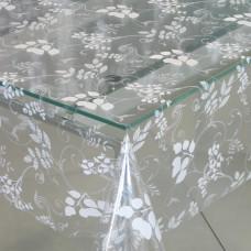 Клеенка ПВХ без основы Transparent Star 140см*30м 329/101/Италия/GIMY